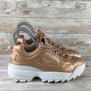 Girls 45y Metallic Bronze Shoe | Poshmark